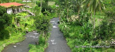 white water rafting- central Bali
