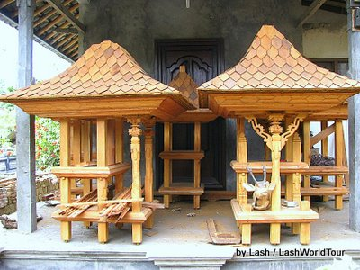 temple making factory- Amed- Bali