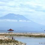 Sacred Mt. Agung from SAnur Beach, Bali