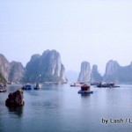 Halong Bay, Vietnam: Catba Bay view