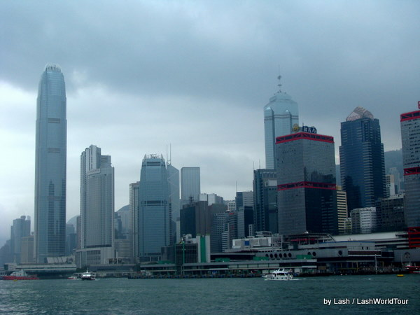 another HOng Kong harbour view
