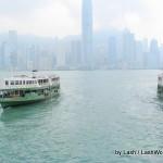 Star Ferry crossing Hong Kong Harbor
