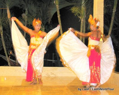 Balinese dance performance