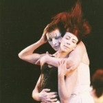 Lash and Greg in Butoh performance, Kyoto Japan