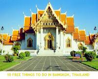 Thai temple Bangkok