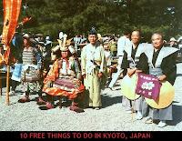 Jidai Matsuri Festival in Kyoto Japan