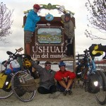 Family on Bikes- Vogels reach the southern tip of South America