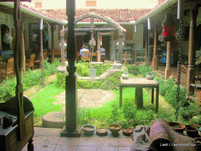 My secret travel hobby lashworldtour for Courtyard designs sri lanka