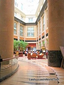 Fullerton Hotel lobby, Singapore