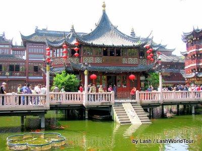 Yuyuan Temple Area, Shanghai, China