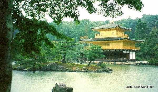 Kinkakuji - Golden Pavillion- Kyoto, Japan