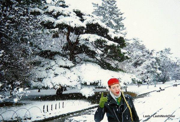 Lash in Kyoto- Christmas 1