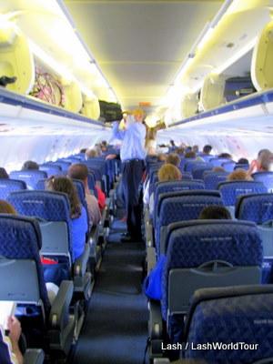 inside plane
