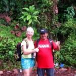 Lash and Abah Niesa at Bukit Tabur near KL