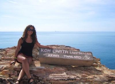 Adventurous Kate at Koh Lanta, Thailand