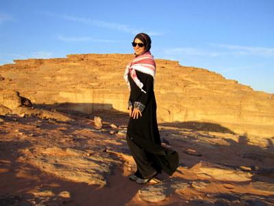 Adventurous Kate in Jordan