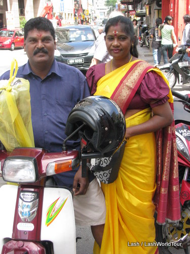 Indian Malaysian couple in KL