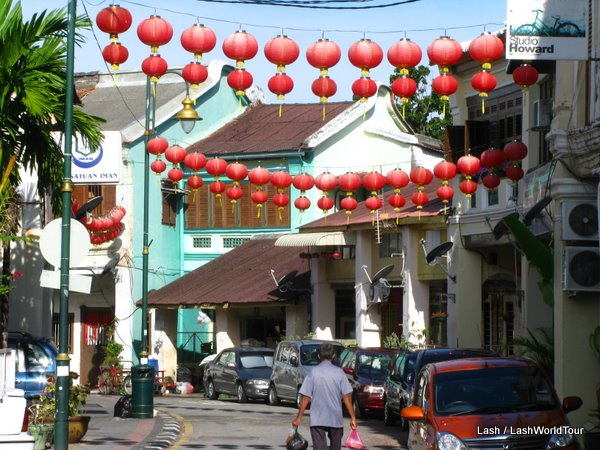 Armenian Street- Penang- Malaysi