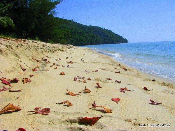 remote beach near Pulau Betong- southwest Penang