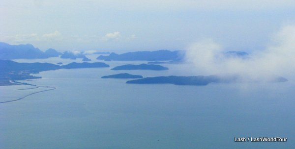 view over Langkawi's 99 islands
