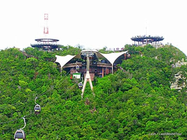 Review Langkawi Cable Car And Sky Bridge Lashworldtour