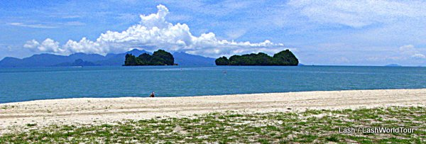 Tanjung Ru Beach and offshore islands- Langkawi