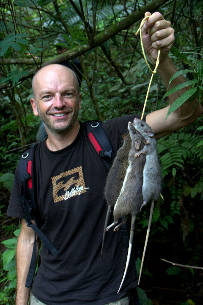 Raymond Walsh -- Man On The Lam -- Rat Hunting- Tomohon- Indonesia