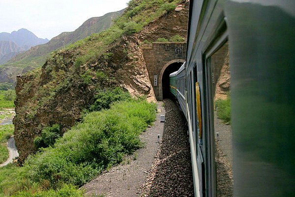 train tunnel-  China