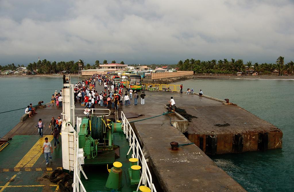 Panay Island Ferry Port- Philippines