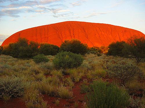 Uluru sunrise- Australia- Ayers Rock