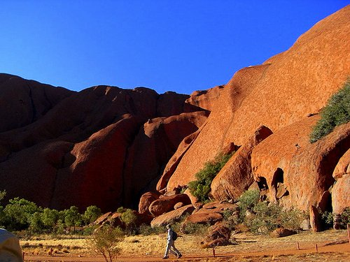 hike around Uluru- Ayers Rock- Australia