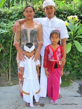 Balinese names- Balinese family - ceremony - Bali