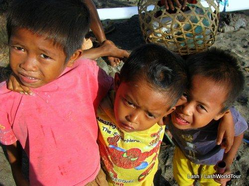 Balinese boys- Lipah- Bali