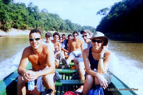 Survivor Amazon -river boat cruise