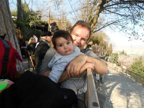 Vago Damitio with son