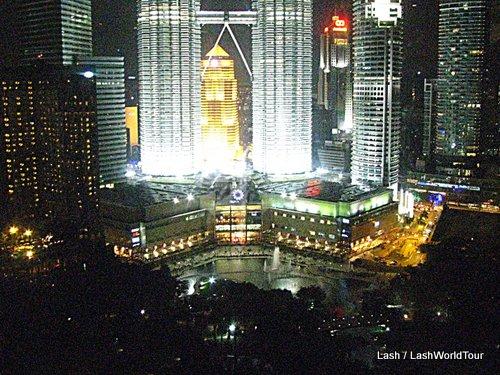 Petronas Twin Towers - KLCC- Sky Bar - Kuala Lumpur malaysia