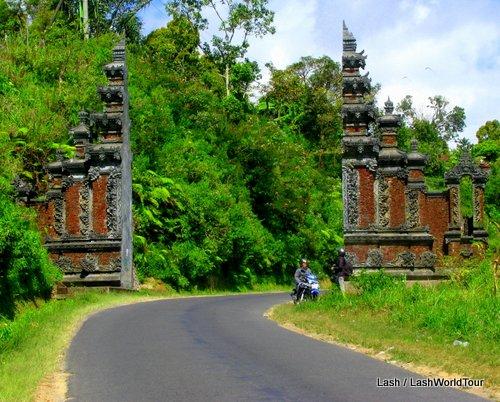 road to Kintamani & Mt Batur- Bali