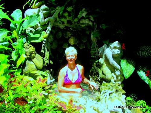 Tchampuan cave grotto spa- Ubud- Bali