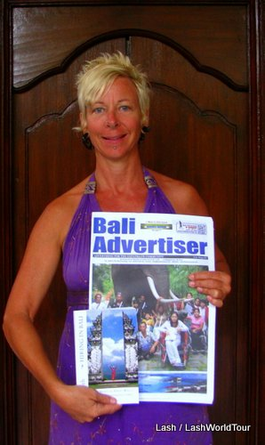 Bali Advertiser- July 25 2012- my books reviewed