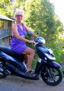 Lash - motorbike - Bali