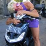 Lash - rental motorbike - Bali