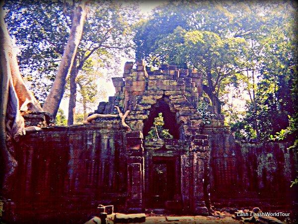 Angkor Wat walled temple - Cambodia