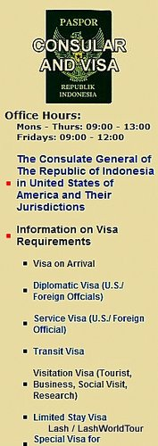 Bali travel tips - Indonesian Visa Info