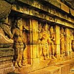 stone carvings - Borobudur Temple - Java - INdonesia