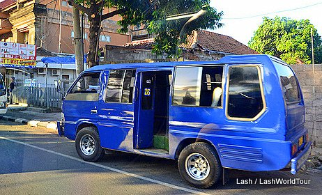public transport - Bali
