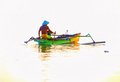 Fisherman in Boat - Gili Meno island - Lombok - Indonesia