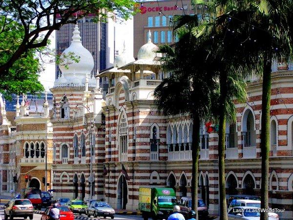 British colonial Moorish style Building at Merdeka Sqare - Kuala Lumpur - Malaysia