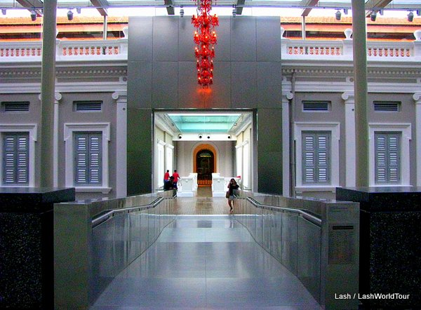 hallway - National Museum of Singapore