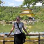 travel interview - Stephanie Yoder - Twenty Something Travel - Kinkakuji Temple - Kyoto - Japan