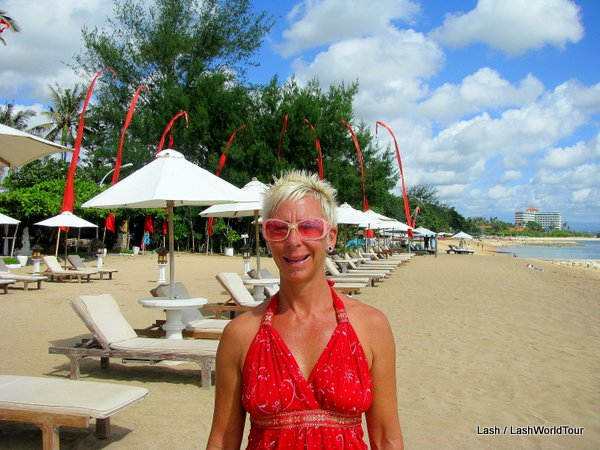 Lash at Sanur Beach - Bali